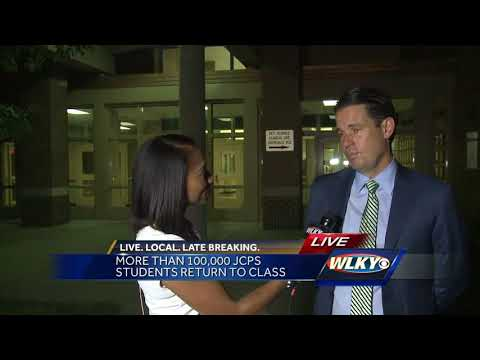 Thousands of JCPS students return to class