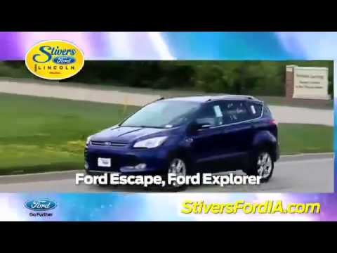Ford Lincoln Mercury Des Moines IA | Stivers Ford | Des Moines IA, Ford  Lincoln Mercury