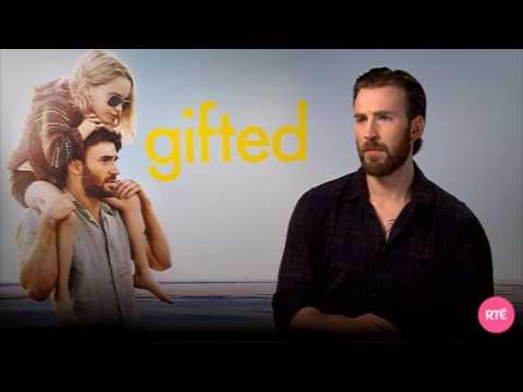 Chris Evans talks Gifted