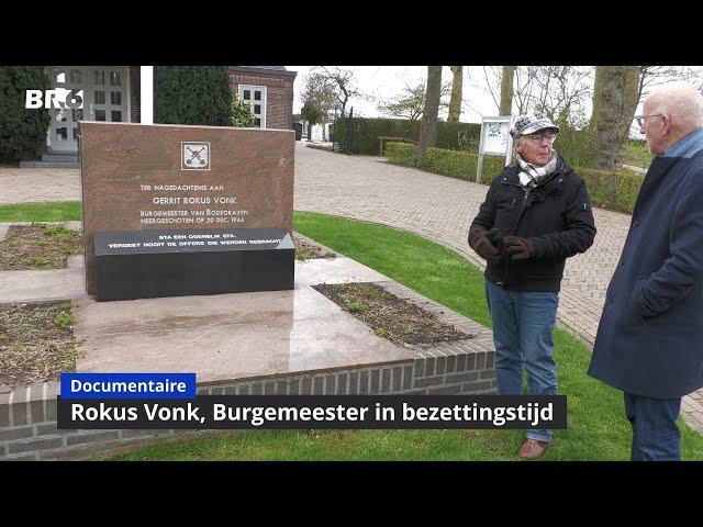 Rokus Vonk, Burgemeester in bezettingstijd