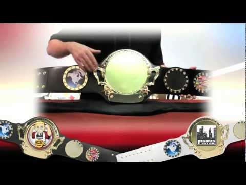 Customizable World Championship Belt
