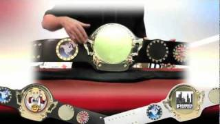 """Customizable World Championship Belt"" Available at Wrestling Super Store"