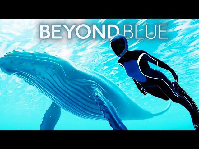 BEYOND BLUE All Cutscenes (Game Movie) Full Story 1080p 60FPS