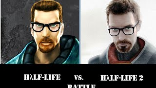 Half-Life 2 vs. Half Life NPC's Battle