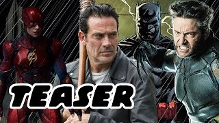 Jeffrey Dean Morgan Thomas Wayne And Flashpoint Movie Teaser  - Wolverine In MCU! Disney Fox Deal