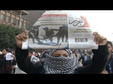 "Outraged Egyptian Women Say ""We Have No Fear"""