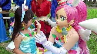 キュアパルフェ 変身プリチューム を着て パルフェ に会いに行ったよ❤ キラキラ☆プリキュアアラモード ショー キラキラプリキュアアラモード Precure Alamode Show thumbnail