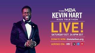 Kevin Hart Hosts the MDA Kids Telethon