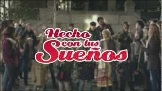 Cancion anuncio Suchard 2012 'Hecho con tus sueños'