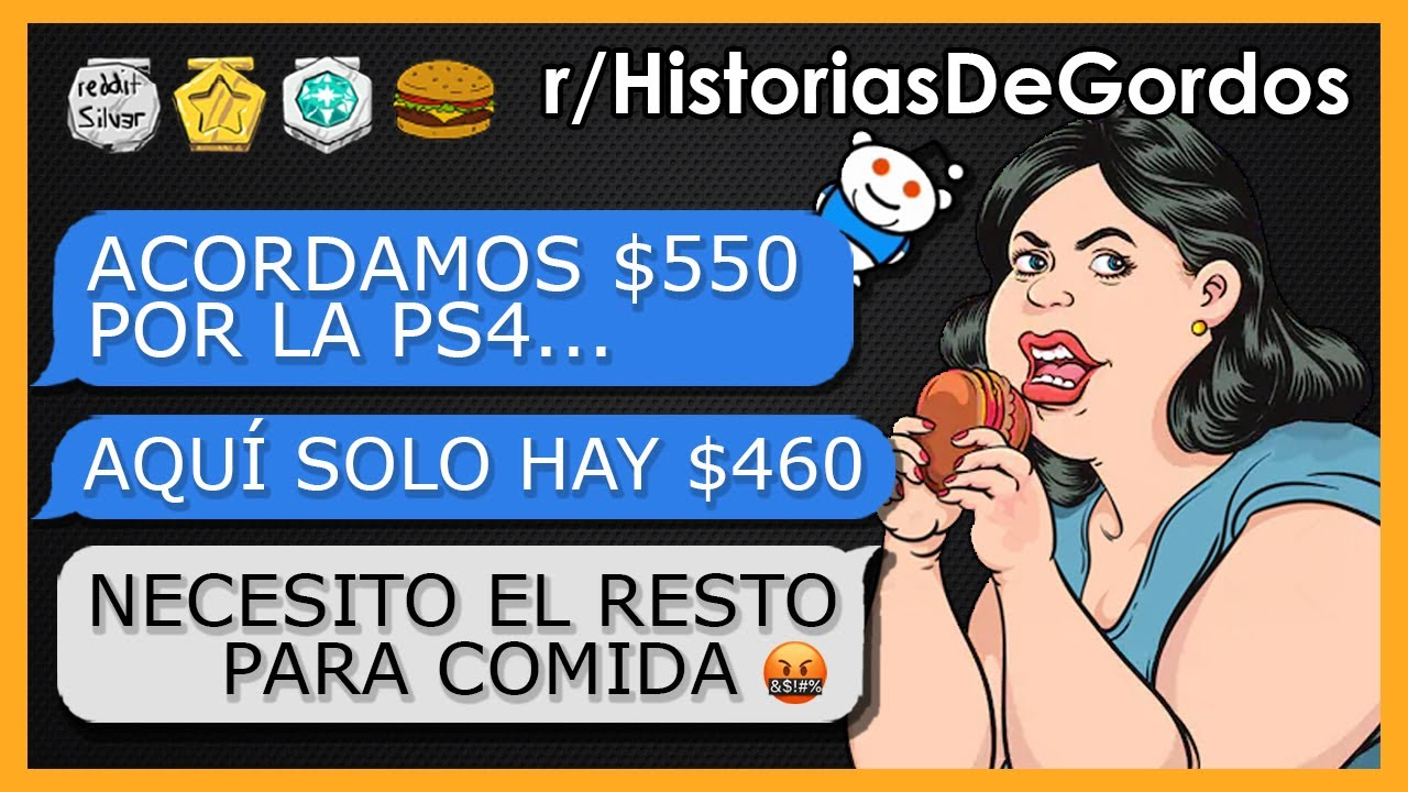 """""""GORDA CON DERECHOS INTENTA ΕSTΛFΛRMΕ CON MI PS4"""" - Historias de Gordos #5"""