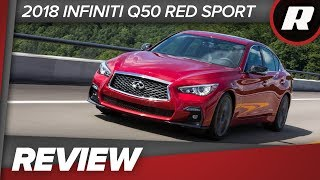 2018 Infiniti Q50 Red Sport 3.0t: Close to what you want