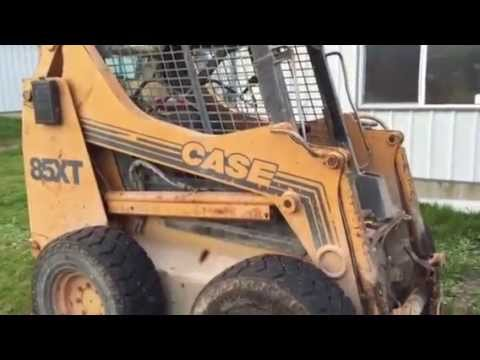Case Skid Steer Control Adjustment - YouTube