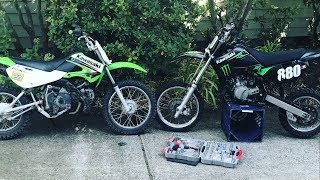 Trading the KLX 110 for a KX 65 on Craigslist