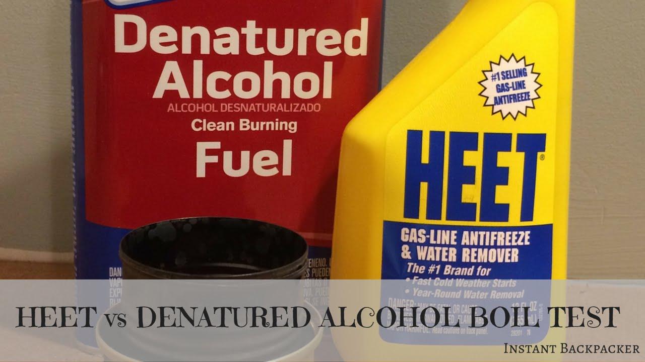 HEET vs Denatured Alcohol Boil Test