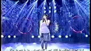 "知念里奈 (Chinen Rina) sings Akina Nakamori's ""Tomadoi"" on 夜のヒパ..."