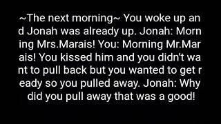 Imagine Jonah Marais season 2 part 10 *VERY DIRTY*