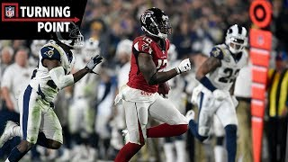 Falcons Road to Redemption Begins in Los Angeles (Wild Card) | NFL Turning Point