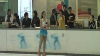 2009 hk figure skating championships sp phyllis tze ching lee