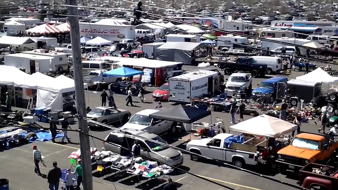 Swap Meet At Englishtown 4-12-14 - YouTube