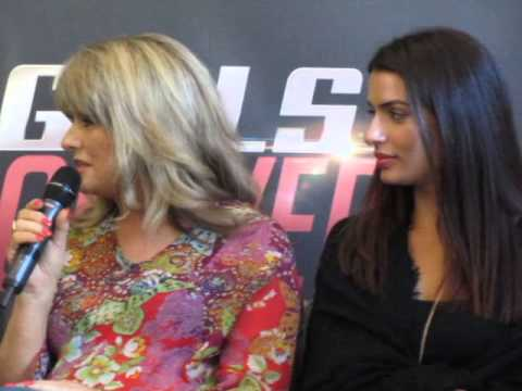 Press conference BOND GIRLS ARE FOREVER, 20th August 2015 OSLO