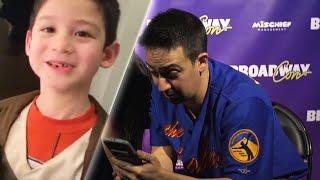 7-Year-Old Boy Jumps for Joy Knowing Idol Lin-Manuel Miranda Watched Him Rap thumbnail