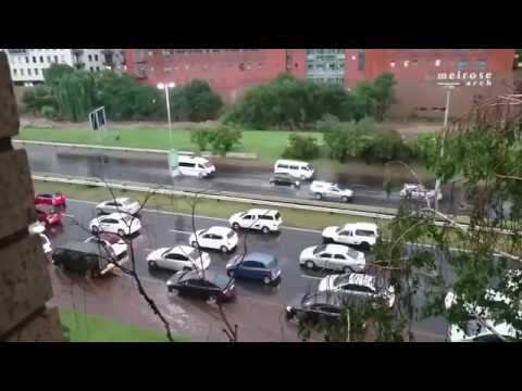 Johannesburg flash flood   on 11/9