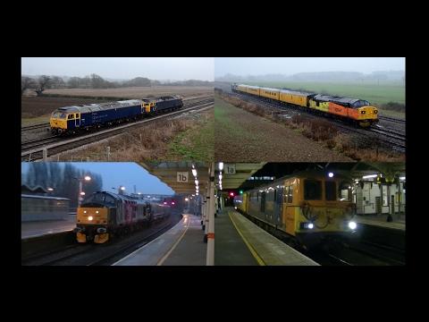 Midlands Motive Power Highlights   January 2017 HD