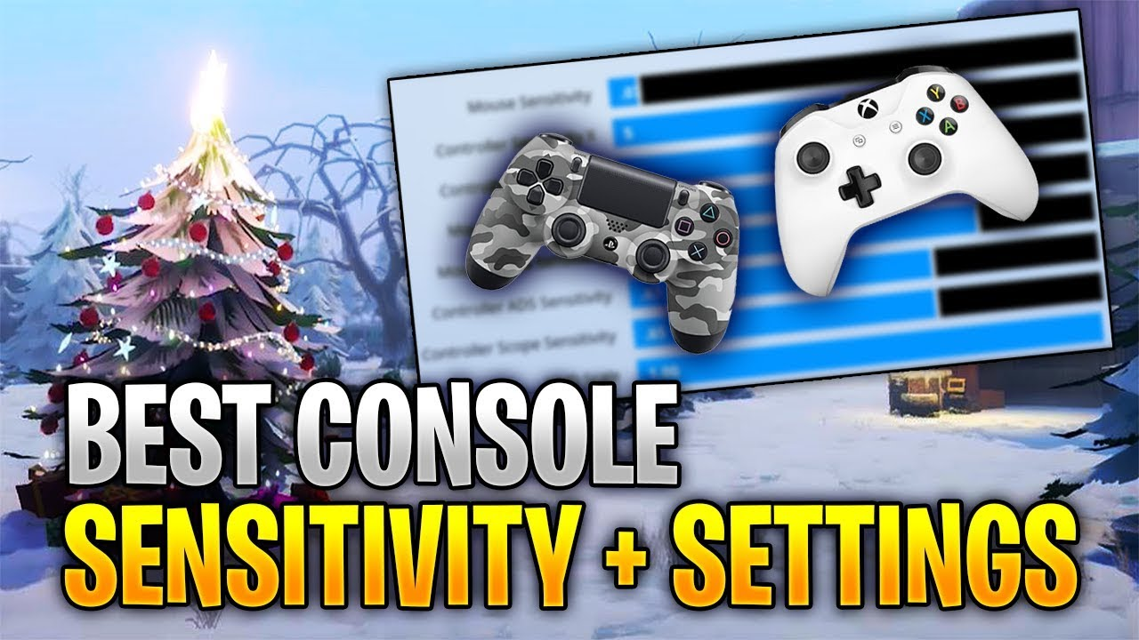Best Xbox One Fortnite Controller Settings from Gronky