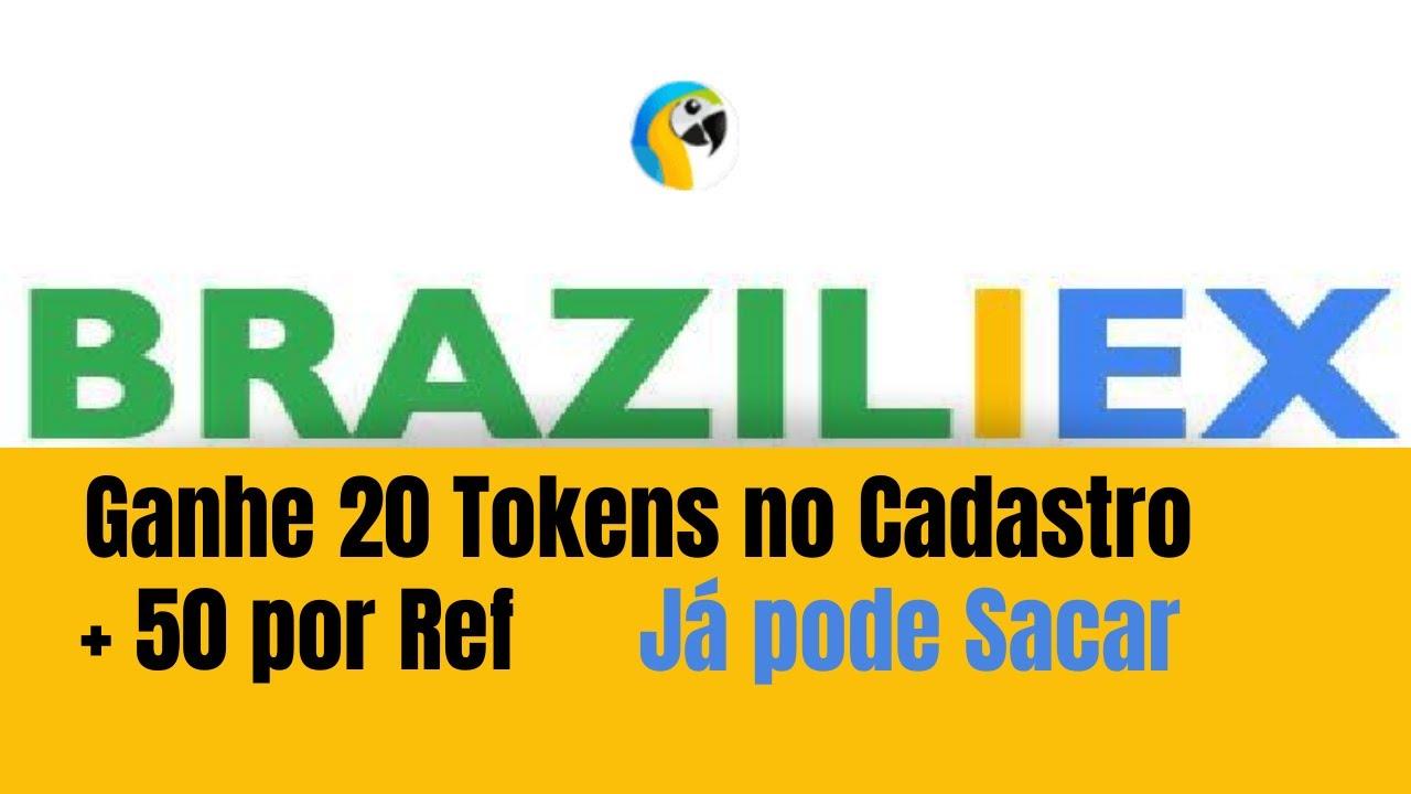 Ganhe 20 Tokens BRZX  na Exchange Braziliex  + 50 por Referidos (JÁ PODE SACAR)