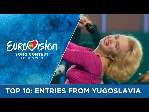 TOP 10: Entries from Yugoslavia
