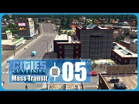 [FR] Cities Skylines Mass Transit – 05 – Education,  canal et nouveau quartier