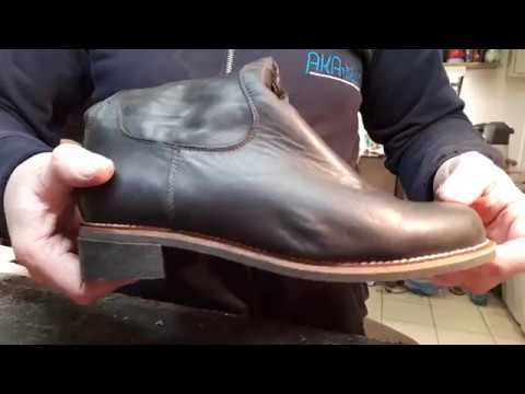 Ремонт обуви. Замена подошвы без колодок.