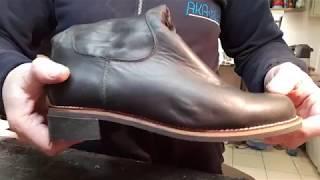 как поменять подошву на сапогах. Ремонт обуви
