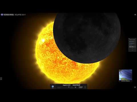 Éclipse de soleil Guadeloupe 21 août 2017