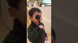 아로니)시력검사.어린이시력검사.소아과방문