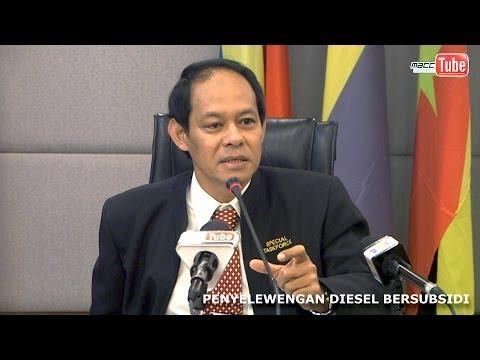 Sidang Media Khas SPRM   Isu Pengelewengan Diesel Bersubsidi