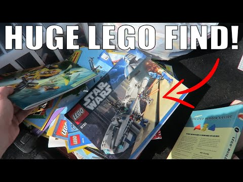 INSANE LEGO Find At Local Deal To Sell On Ebay And AMAZON FBA!