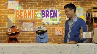 Beanie & Bren: How to Draw an Otter/Shark Mashup