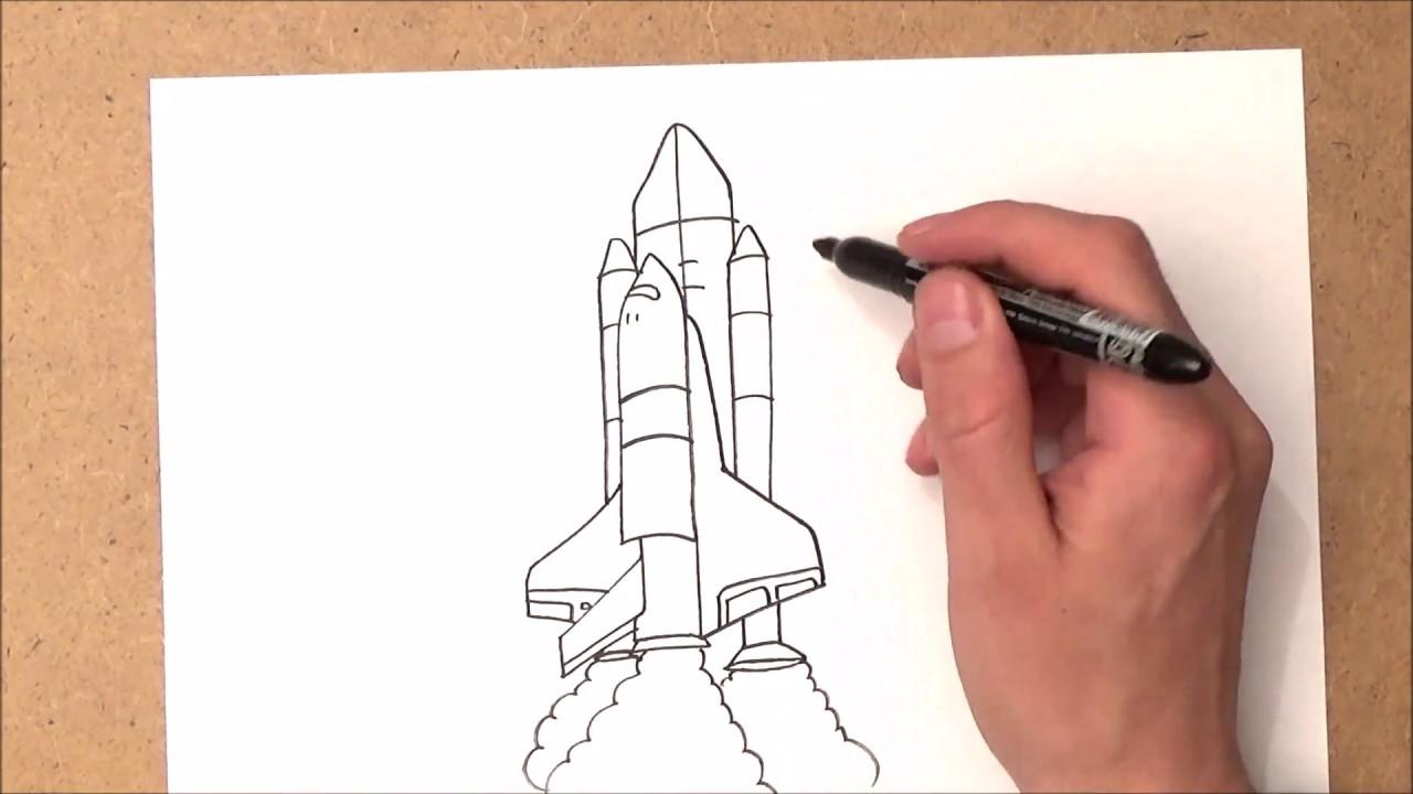 كيفية رسم صاروخ Youtube