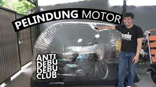 Nyobain Cover Bubble Buat Motor