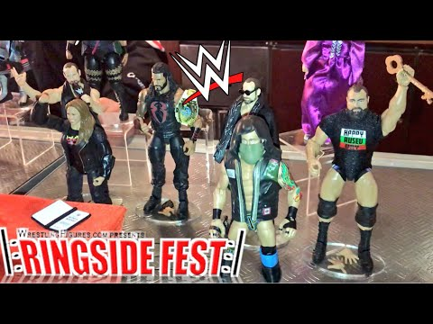 RingsideFest 2018 WWE Figure Reveals! Elite 65! EG Elias! Ronda Rousey Elite! Sanity! Rusev Day!