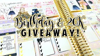 *closed* Huge Birthday & 20k Giveaway! Over 60 Winners!