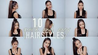 One of Koleen Diaz's most viewed videos: 10 Simple Quick and Easy Hairstyles | Koleen Diaz