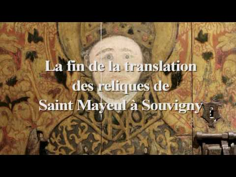Translation des reliques à Souvigny