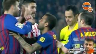 """Gerard Piqué """"la expulsión estaba ya medio premeditada"""" Barcelona - Sporting"""
