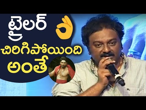 Director VV Vinayak Superb Speech @ DJ Duvvada Jagannadham Trailer Launch | TFPC