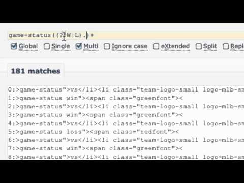 JavaScript strings and regular expressions from YouTube · Duration:  7 minutes 37 seconds