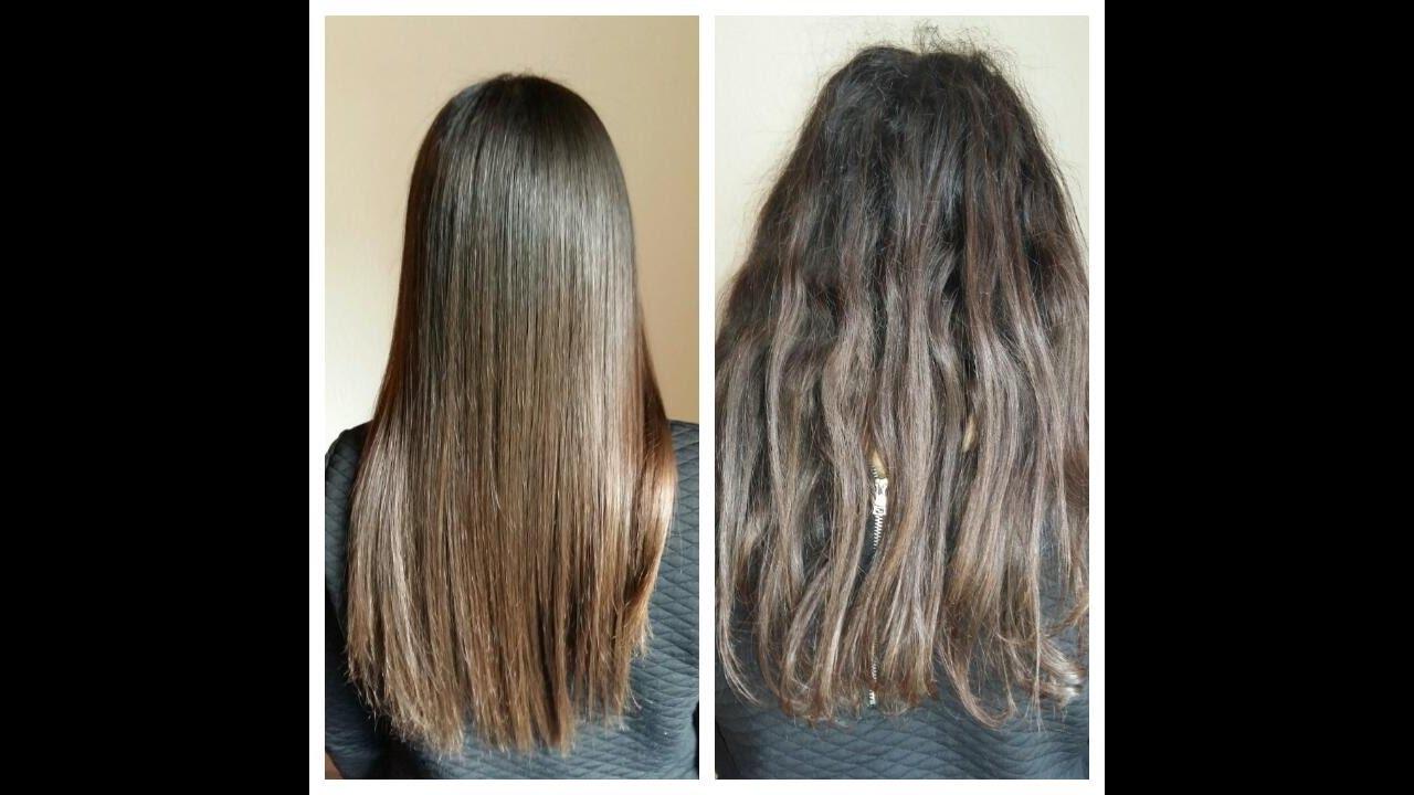 Keratin Haarglättung Glatte Haarefür Drei Monate Youtube