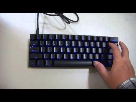 KBParadise V60 - 60% Dual LED Illuminated Mechanical Keyabord - Green+Blue LED
