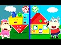Wolf Family🌞 Wolfoo Makes Colorful Playhouse and Learns Shapes for Kids | Kids Cartoon